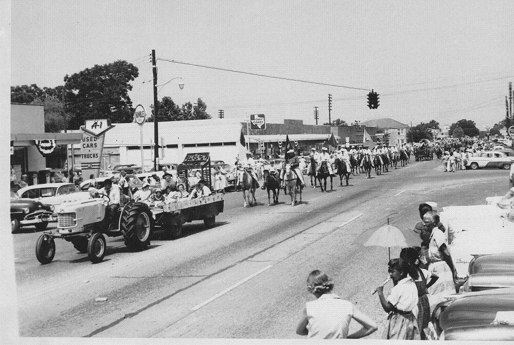Hempstead Parade 1956