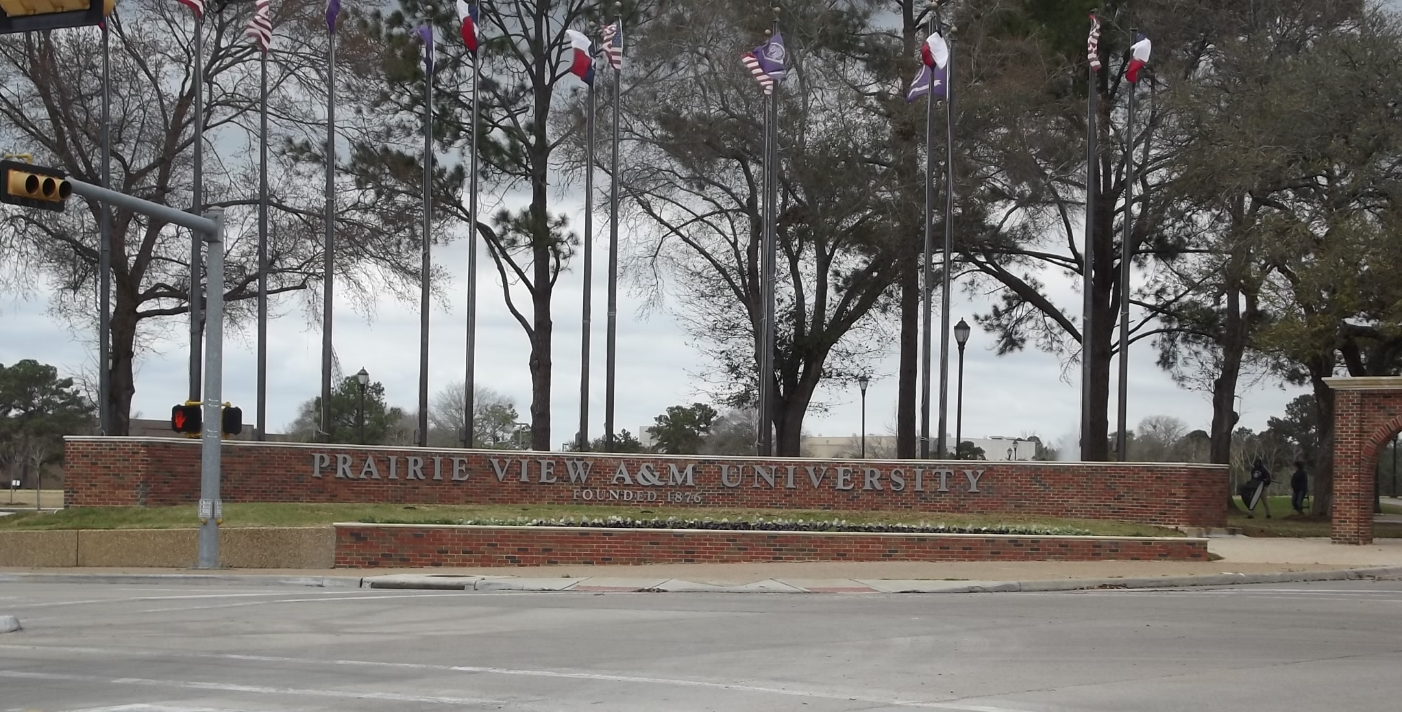 Prairie View A&M Entrance