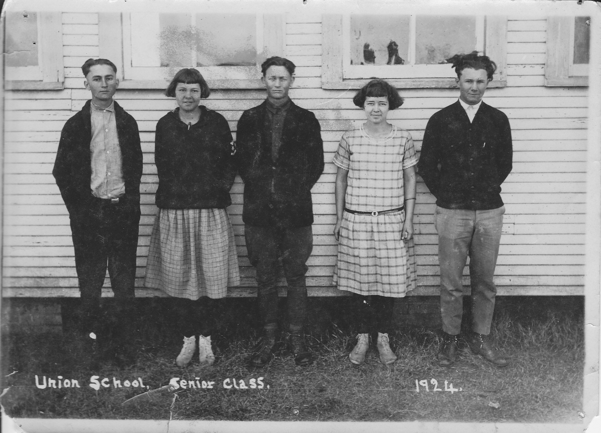 Union School Senior Class 1924