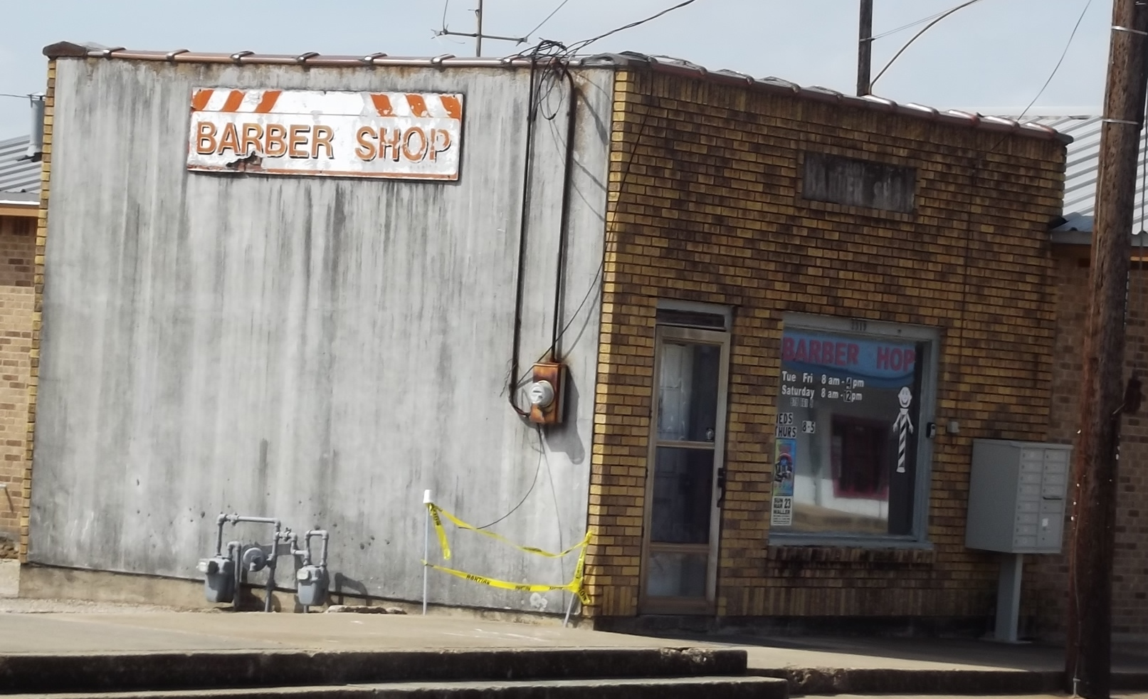 Old Roy Mc Cellam Barber Shop