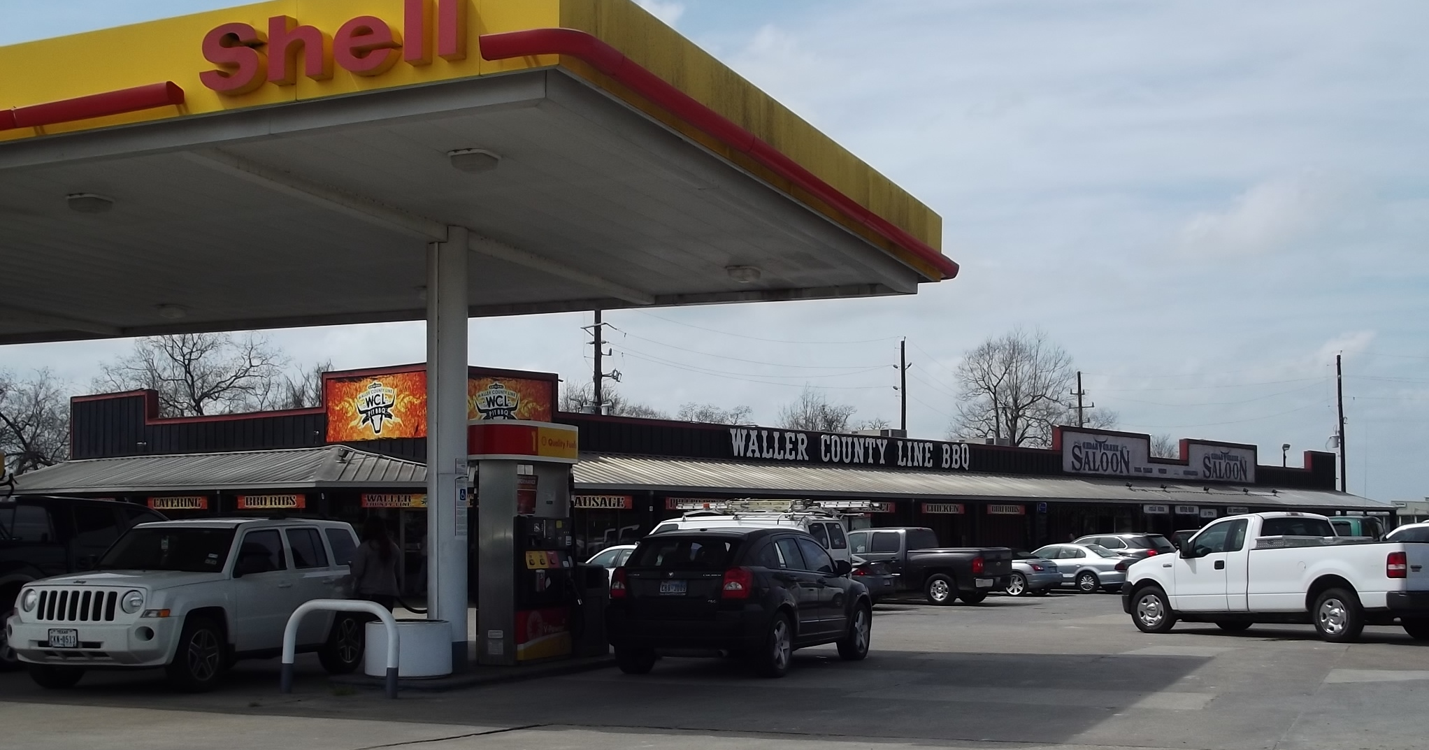 Waller County Line BBG & Shell Station