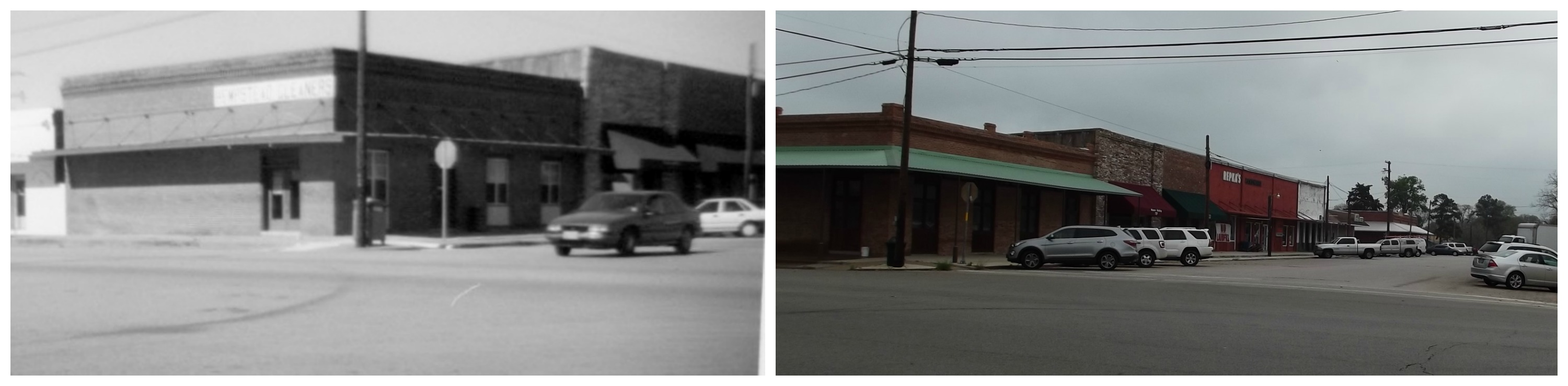 Hempstead 12th Street looking North 1995 & 2014