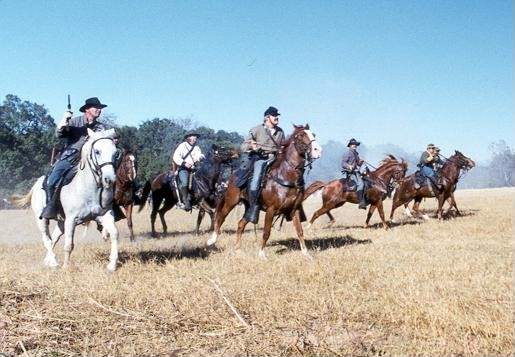 Calvery at Civil War Re-enactment at Liendo